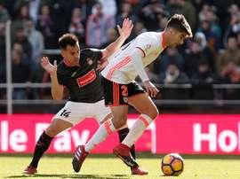 Mourinho a Carlos Soler dans le collimateur. EFE