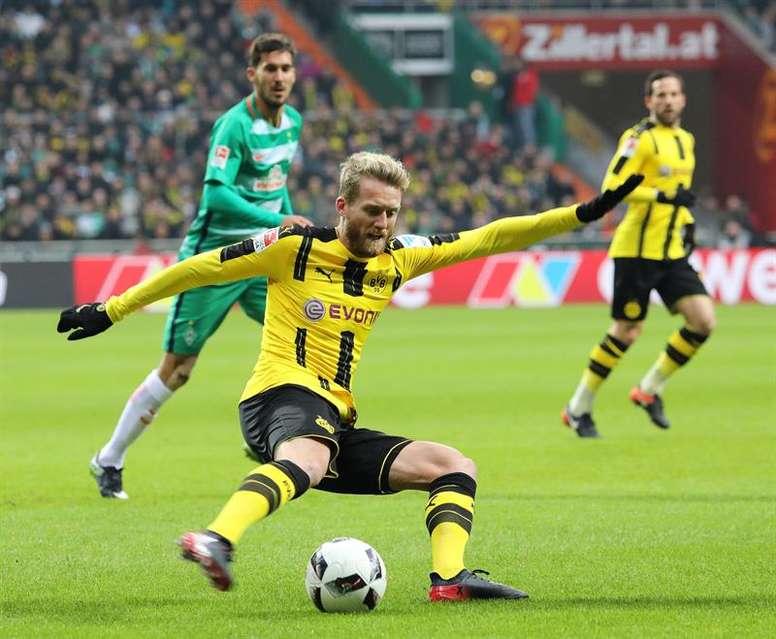 André Schürrle llegó al Borussia Dortmund en el curso 2016-17. EFE/EPA