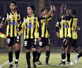 Deportivo Táchira logró llevarse la victoria. EFE