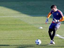 El meta asegura que el choque contra el Celta es un sueño para cualquier jugador. EFE
