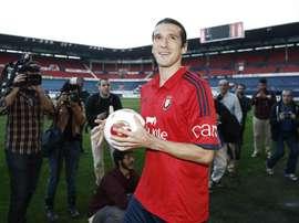 Vujadinovic ya estuvo en Osasuna hace un par de años. EFE