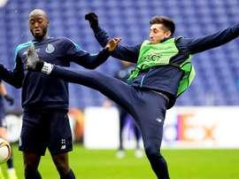 Danilo Pereira dice adiós a la temporada y al Mundial por lesión. EFE/Archivo