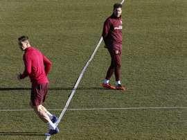 Fernando Torres se paye Simeone. afp