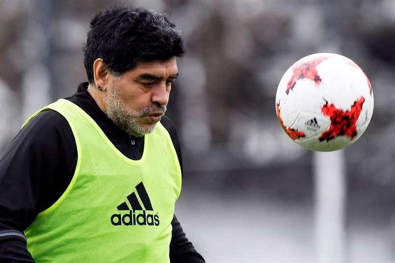 Maradona ha explicado uno de los peores momentos de su vida. EFE/Archivo
