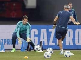 Le gardien de but de Chelsea Asmir Begovic. EFE