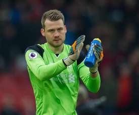 Simon Mignolet will have to fight for a regular spot in Liverpool´s lining up. EFE/EPA/Archivo