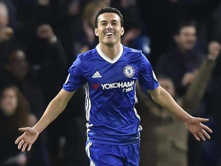 Pedro is not so vital. AFP