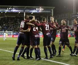 Buen inicio de temporada para el Eibar. EFE