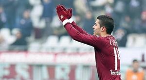 El jugador del Torino sufre problemas en el muslo. EFE