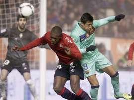 El centrocampista regresa al Osasuna. EFE/Archivo