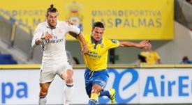 Roque Mesa recordó su etapa como jugador de Las Palmas a las órdenes de Setién. EFE