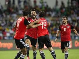 O Egito estará no próximo Campeonato do Mundo. EFE