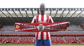 El lateral nigeriano ha llegado cedido al Sporting. EFE