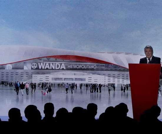 El Wanda Metropolitano podría albergar la Champions en su tercer año de vida. EFE