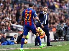 Aleix Vidal s'en ira et Arturo arrivera. EFE