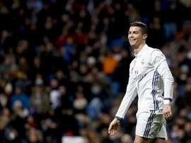 Real Madrid's Cristiano Ronaldo. EFE
