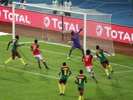 Kalvin del Alcobendas Levitt de Tercera podría debutar con Camerún. EFE/EPA