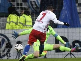 El Hamburgo encuentra en Copa en consuelo por su pobre Bundesliga. EFE