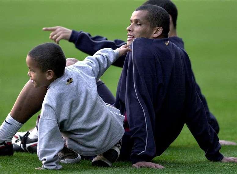 Rivaldo fue una de las estrellas del partido. EFE/Archivo