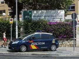 Reconocimiento a la labor policial. EFE