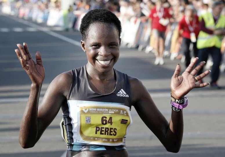 La atleta keniana Peres Jepchirchir. EFE/Archivo