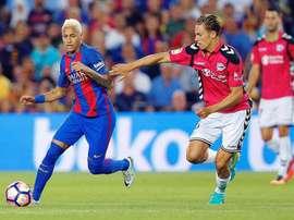 Barcelona face Alaves in the Copa del Rey final. EFE