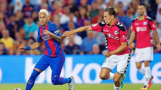 Barcelona face Alaves in the Copa del Rey final. EFE