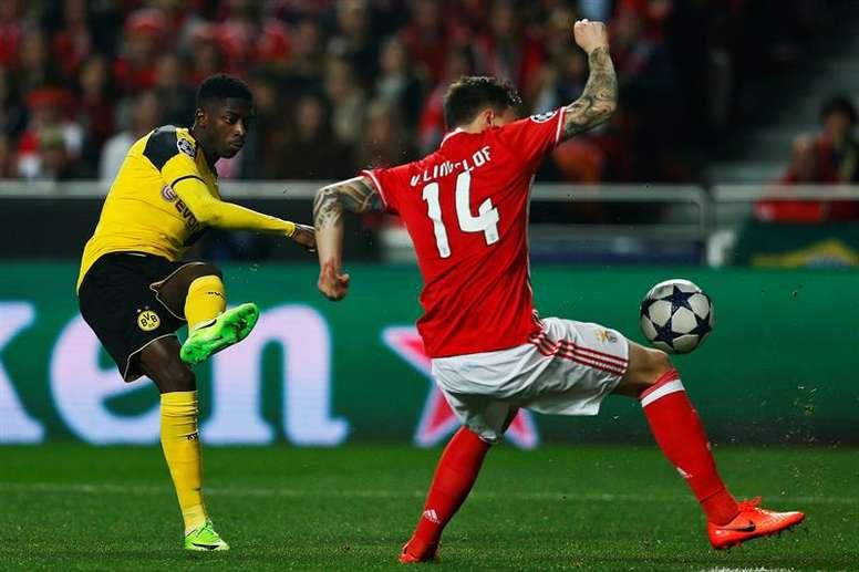 O defesa sueco afirmou-se no último ano e meio no Benfica. EFE