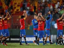 Unión Española encadenó su tercer triunfo consecutivo. EFE