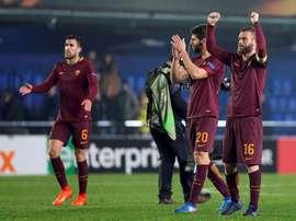 La Roma ha dado la gran sorpresa de la jornada al vapulear al Villarreal en Castellón. EFE