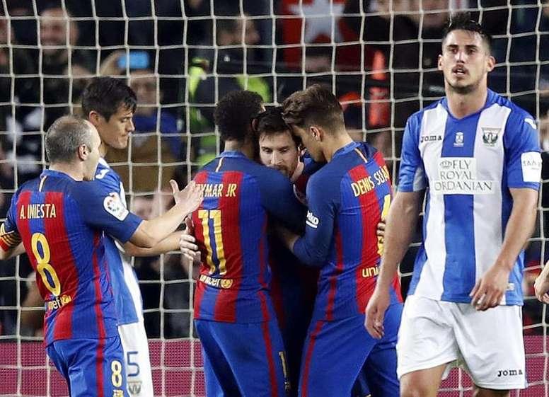 bda8ab70d3 A falta de reação de Messi depois do gol preocupou o Barça - BeSoccer