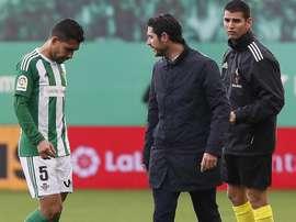 Petros jugó dos temporadas en el Betis. EFE/Archivo