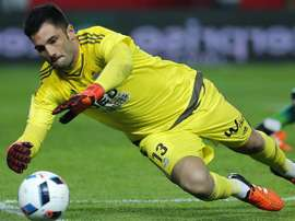 Adán est dans la ligne de mire de l'Atlético. EFE