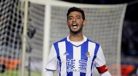 Le Barça dément avoir formulé une offre pour Carlos Vela. EFE