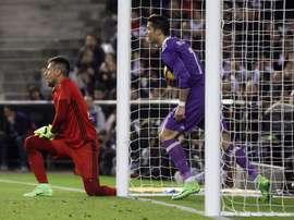 Ronaldo anotou muitos, mas também falhou muitos. EFE