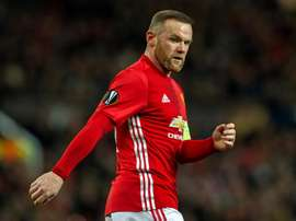 No Rooney for United in Europa League tie. EFE/Archivo