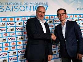 El Olympique de Marsella quiere llevarse a los dos jugadores de LaLiga.EFE