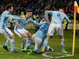 Celta x Krasnodar nas quartas de final da Europa League. EFE