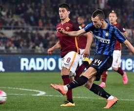 Inter e Roma empataram em 1-1. EFE