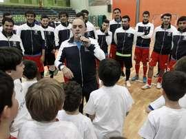 Luis Fonseca será el nuevo entrenador del equipo canadiense Toronto de fútbol sala. EFE/Archivo