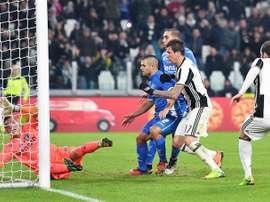 La Juve se ha quedado con los tres puntos en casa en la visita del Empoli. EFE