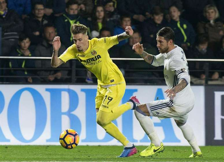 El Villarreal visita el Santiago Bernabéu. EFE/Archivo