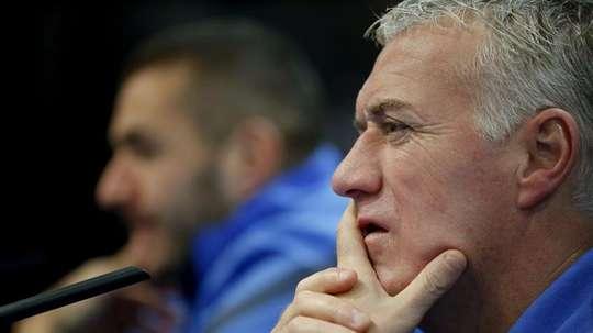 Deschamps revient sur le cas Benzema. EFE