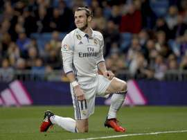 Bale received a red card today. EFE