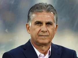 Antigo selecionador de Portugal pode levar Irão a novo Mundial depois de 2014. EFE.Archivo