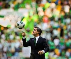 Bruno de Carvalho tuvo sus más y sus menos en el vestuario. EFE