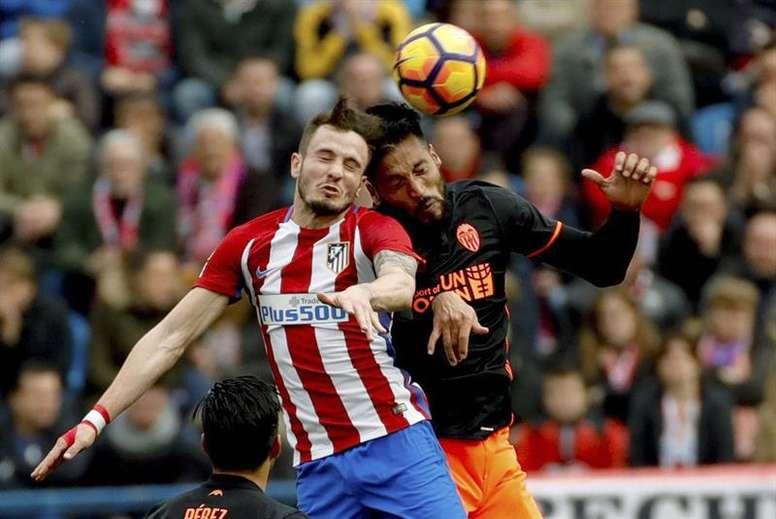 L'Atlético reçoit Valence. EFE