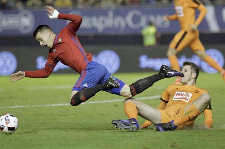 Álex Berenguer veut faire son retour en Espagne. EFE