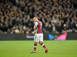 Sofiane Feghouli souhaite continuer avec West Ham la saison prochaine. EFE