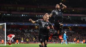 Jogo entre o primeiro e o segundo da Bundesliga não desiludiu, de maneira nenhuma. EFE/ANDY RAIN